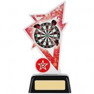 Darts Acrylic Award 6.25 inches 16cm : New 2020