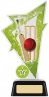 Cricket Acrylic Award 7.5 inches 19cm : New 2020