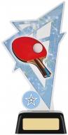 Table Tennis Acrylic Award 7.5 inches 19cm : New 2020