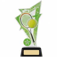Tennis Acrylic Award 7.5 inches 19cm : New 2020
