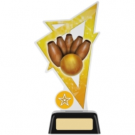 Skittles Trophy Acrylic Award 7.5 inches 19cm : New 2020