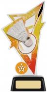 Badminton Acrylic Award 7.5 inches 19cm : New 2020