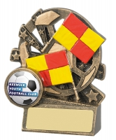 Xblast Football Linesman Trophy Award