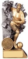 Breakout Male Football Player Trophy Award