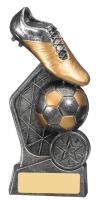 Hex Football Trophy 15cm : New 2019