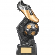 Hex Football Trophy 9.75 inches 25cm : New 2020