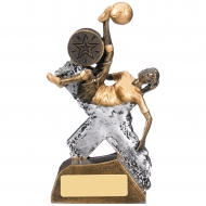Extreme Female Football Trophy 14.5cm : New 2019