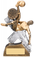Extreme Male Football Trophy 14.5cm : New 2019
