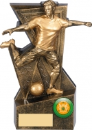 Legacy Male Football Award 6.25 inches 16cm : New 2020