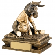 Comic Football Donkey Trophy Award
