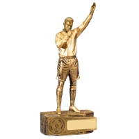 Football Male Referee Trophy Award
