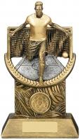 Triumph Male Football Trophy Award
