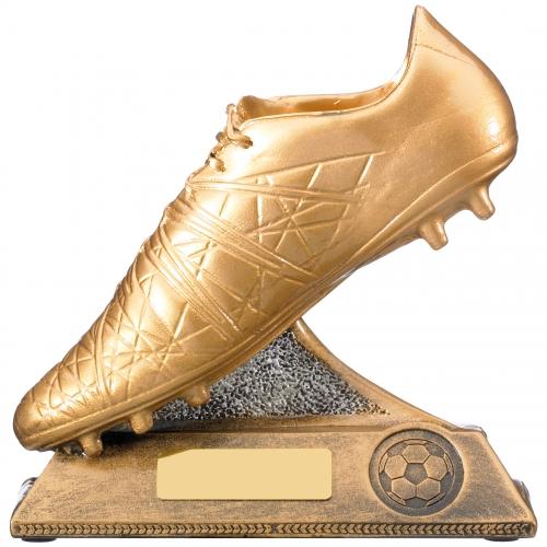 Golden Boot Football Trophy Award 15cm
