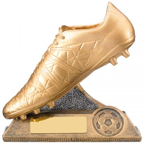 Golden Boot Trophy Football Award 12.5cm : New 2019