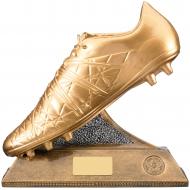 Golden Boot Football Trophy Award 23cm