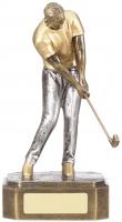 Golf Male Figure Trophy Award