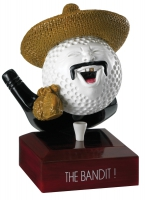 Golf The Bandit Trophy Award