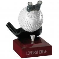 Golf Longest Drive Trophy Award