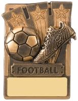 Fridge Mini Magnet Football Trophy Award 80mm : New 2019