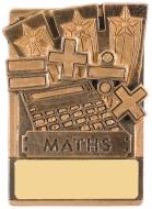 Mini Magnetic Maths Trophy Award 82mm : New 2019
