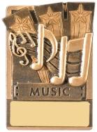 Mini Magnetic Music Trophy Award 82mm : New 2019