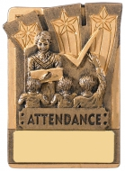 Mini Magnetic Attendance Trophy Award 82mm : New 2019
