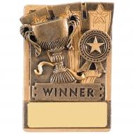 Mini Magnetic Winner Trophy Award 82mm : New 2019