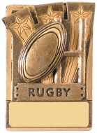 Mini Magnetic Rugby Award 82mm : New 2019