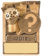 Mini Magnetic Quiz Trophy Award 82mm : New 2019