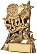 Star Performer Trophy 4.25 inches 11cm : New 2020