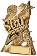 Star Performer Trophy 5.25 inches 13.5cm : New 2020