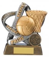 Infinity Netball Award 5 inches 12.5cm : New 2020