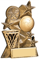 Netball Award 4 inches 10cm : New 2020