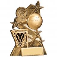 Netball Award 5.25 inches 13cm : New 2020