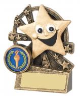Smiley Star Trophy Award