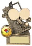Table Tennis Theme Trophy Award