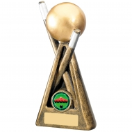 Snooker And Pool Theme Trophy Award