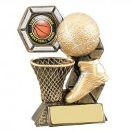 Basketball Theme Trophy Award