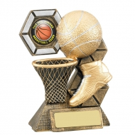 Basketball Theme Trophy Award