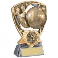 Ten Pin Bowling Trophy Award
