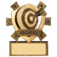 Archery Mini Shield Trophy Award