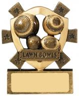 Lawn Bowls Mini Shield Trophy Award