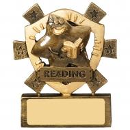 Reading Mini Shield Trophy Award