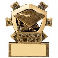 Academic Achievement Mini Shield Trophy Award