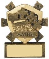 Maths Mini Shield Trophy Award