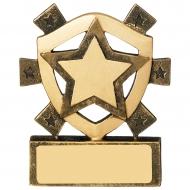 Star Mini Shield Trophy Award