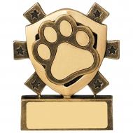 Pets Mini Shield Trophy Award