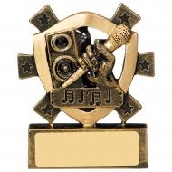 Karaoke Mini Shield Trophy Award