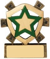 Green Star Mini Shield Trophy Award