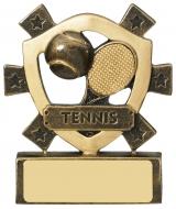 Tennis Mini Shield Trophy Award